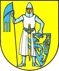 Wappen der Stadt Laucha an der Unstrut