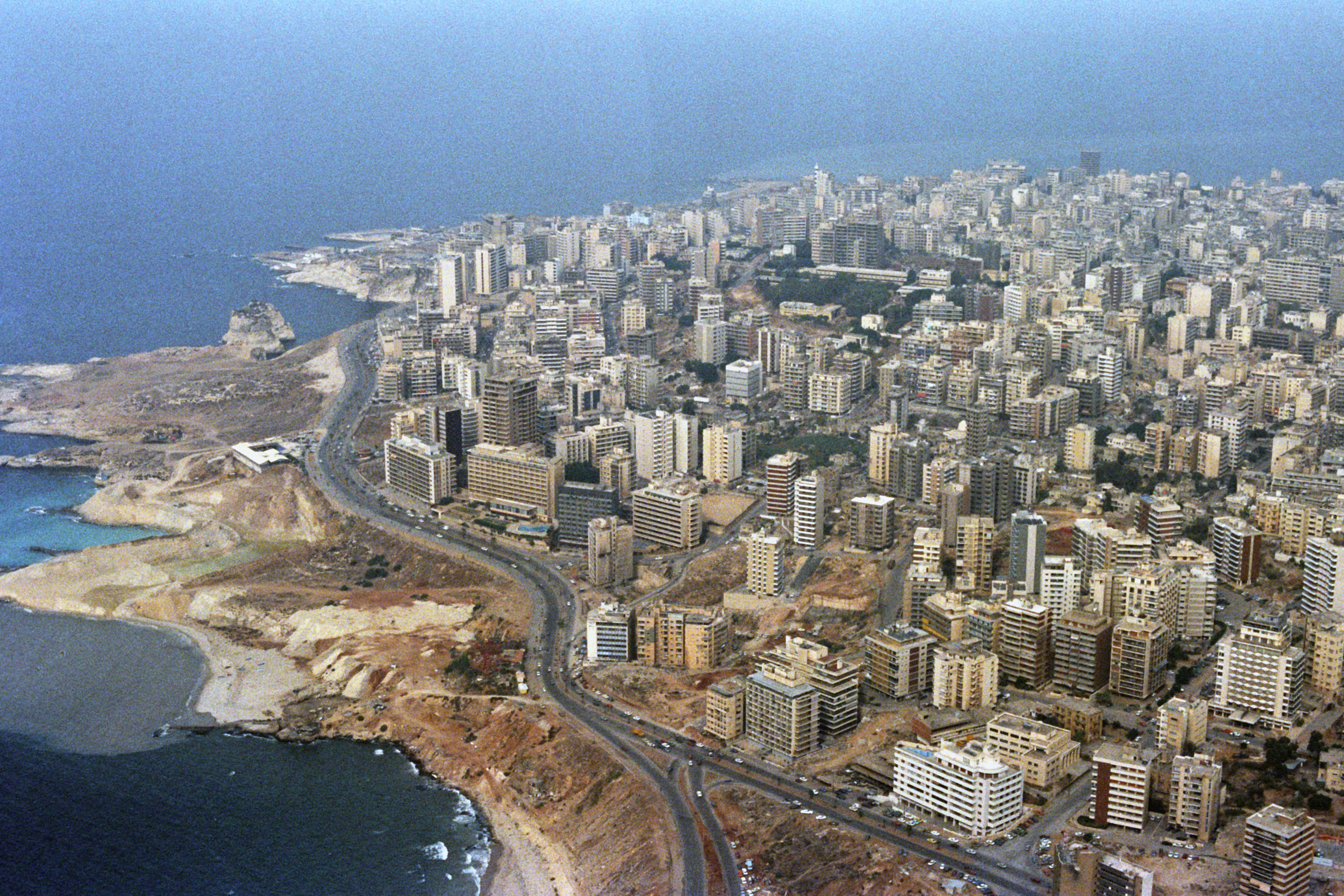 Beirut Lebanon  City pictures : West Beirut1983 Wikimedia Commons