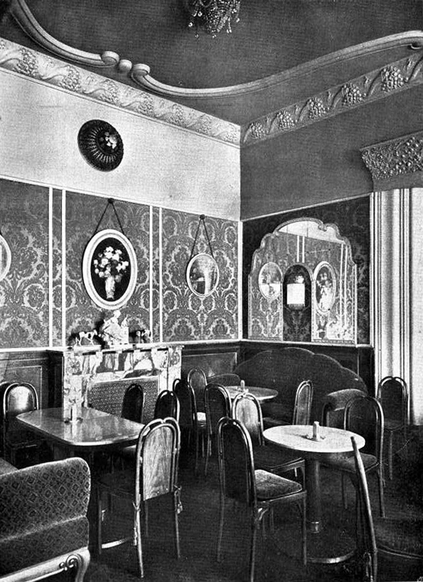 Paris Cafe De La Paix Awning May