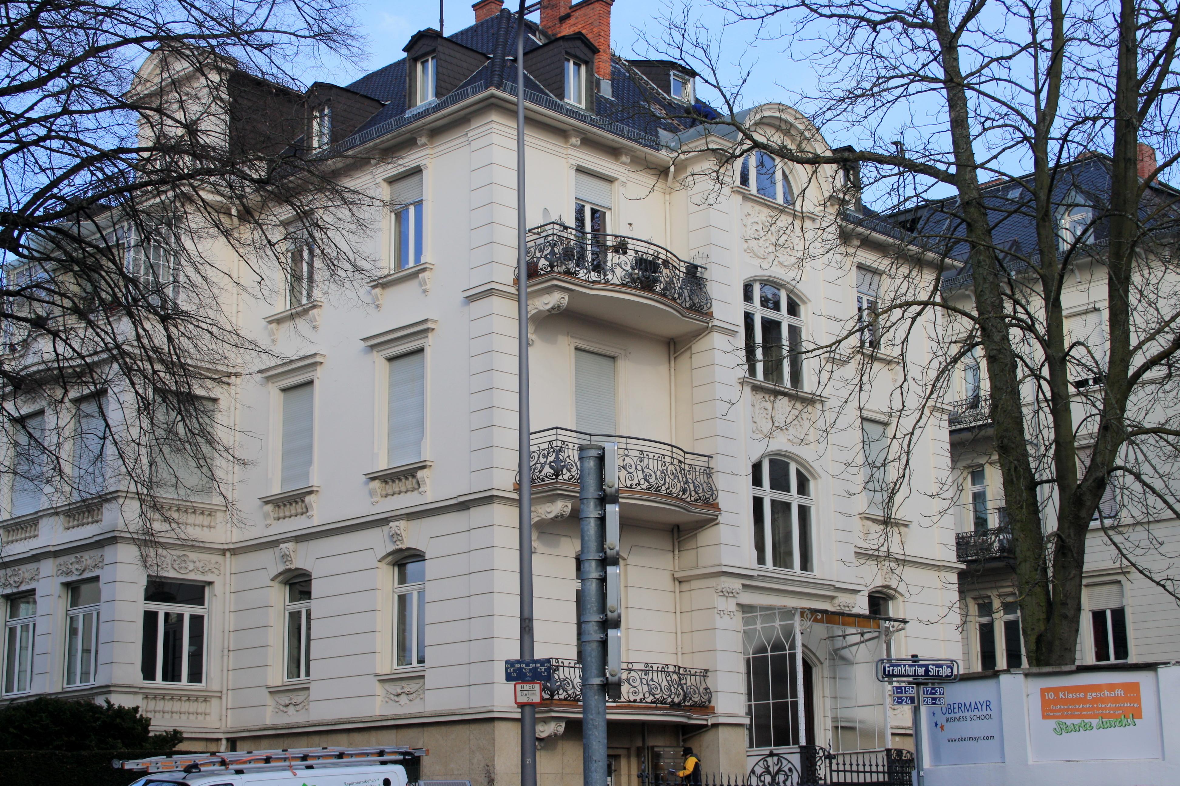 Bb Wiesbaden file wiesbaden frankfurter str 24 jpg wikimedia commons