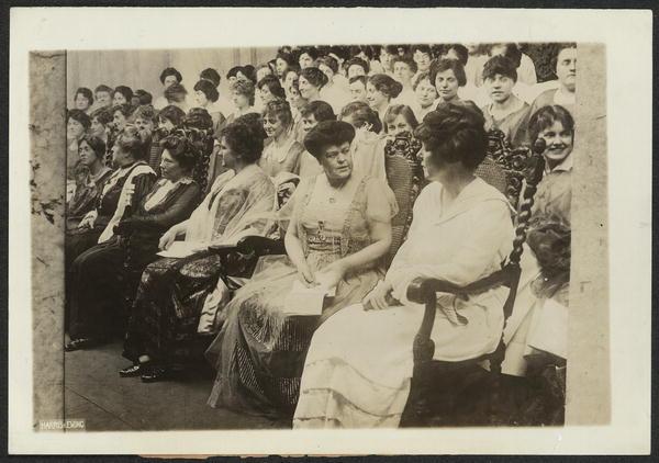 Women Voter Convention, San Francisco, California, 1915