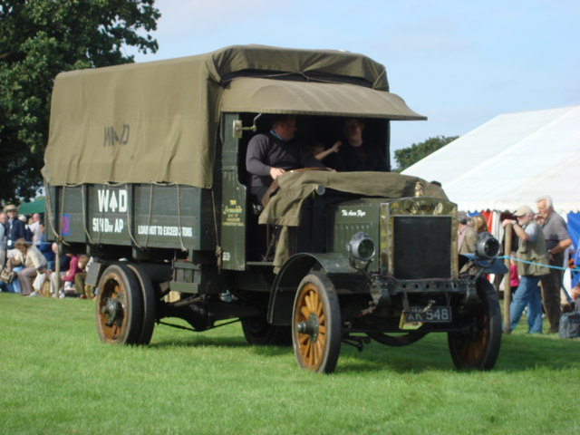 File world war 1 vintage army 3 ton truck geograph org uk 937432