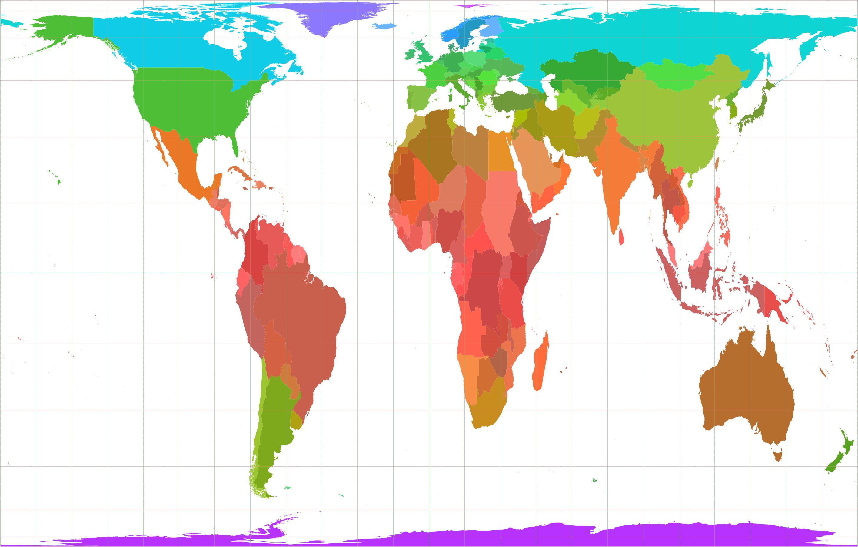Description world borders cilv2
