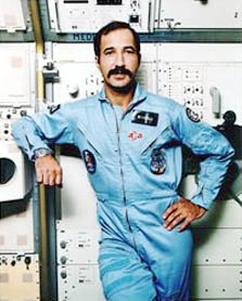 ESA astronaut Wubbo Ockels PhD, NASA photoSource: Wikipedia Wubbo_Ockels.jpg