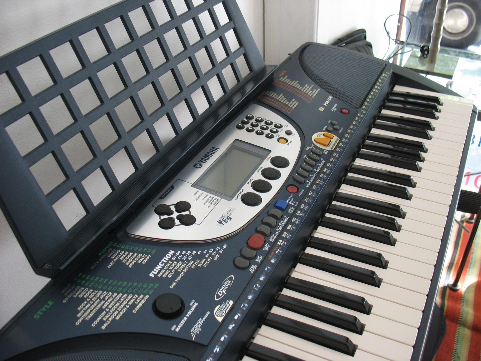Yamaha Portatone Electronic Keyboard Ypt