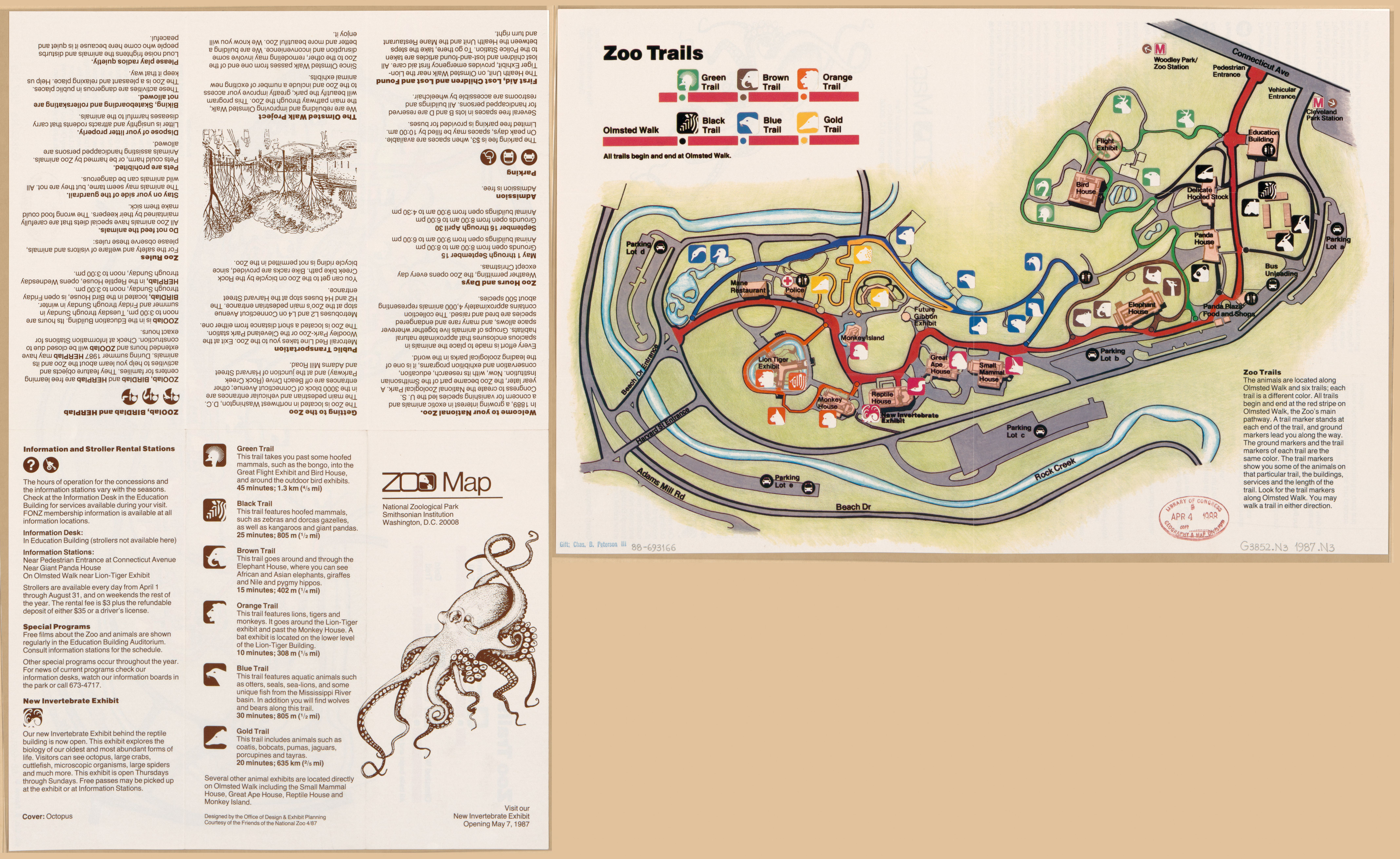 Dc Zoo Map on