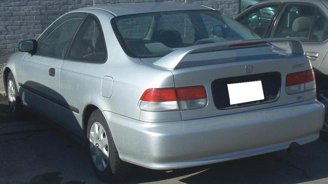 99 Civic Sedan: File:'99-'00 Honda Civic Coupe -- Rear.JPG