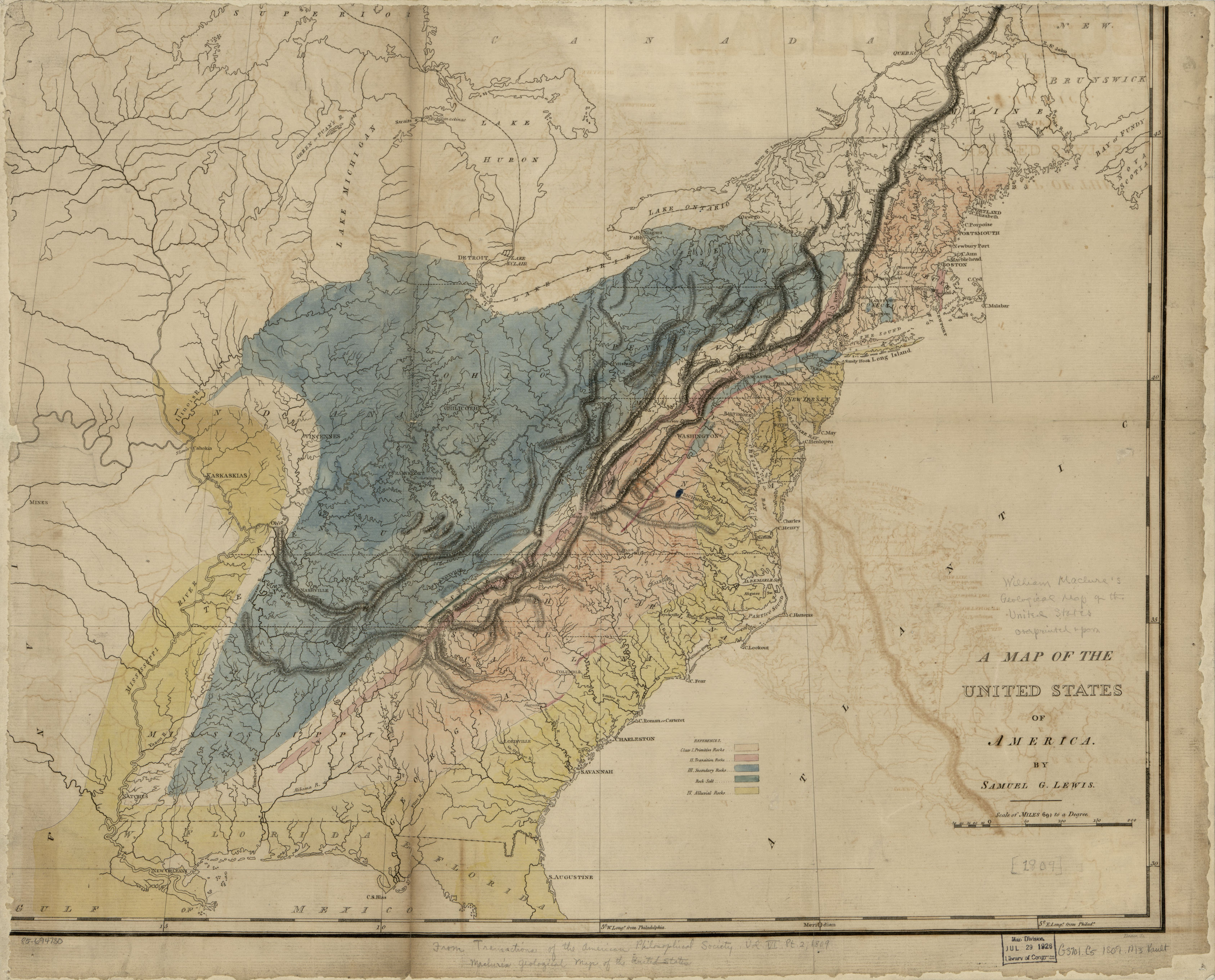 File:(Maclure\'s geological map of the United States) LOC ...