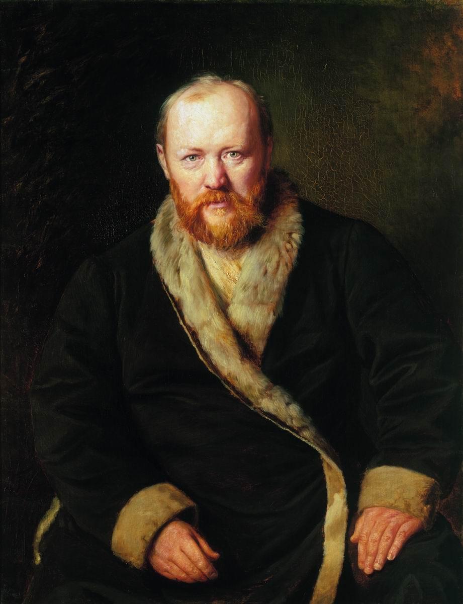 Alexander Ostrovsky by [[Vasily Perov]]
