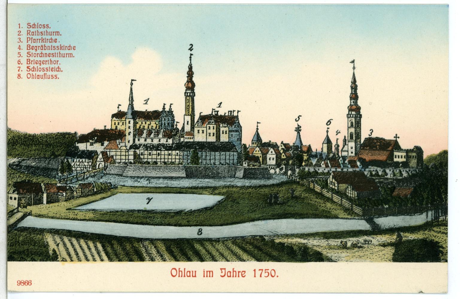 Deutscher name der polnischen stadt olawa
