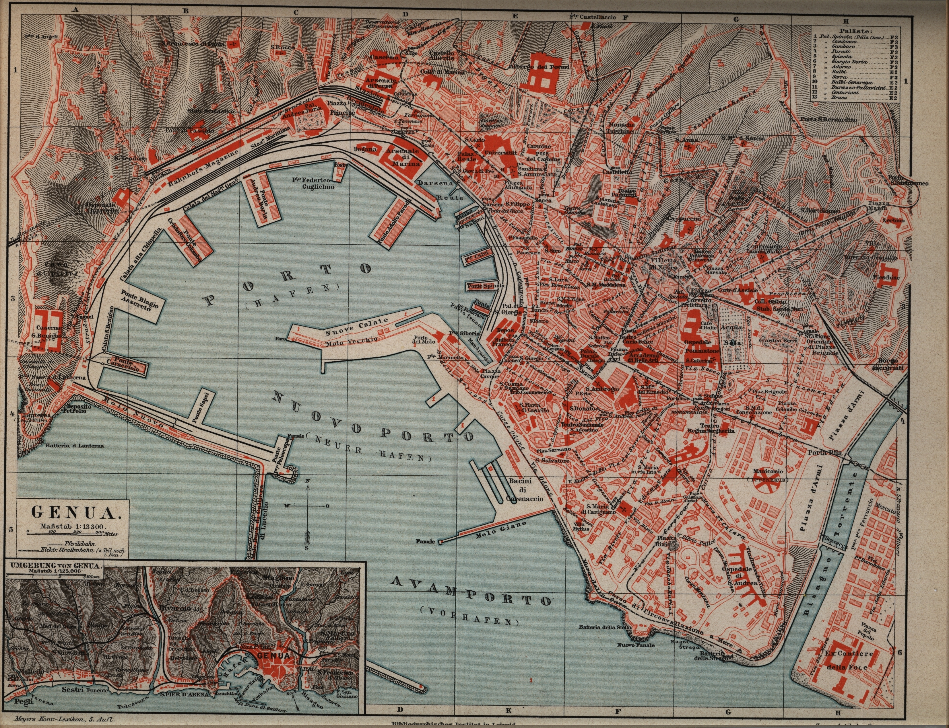 Where Is Genoa Italy Map
