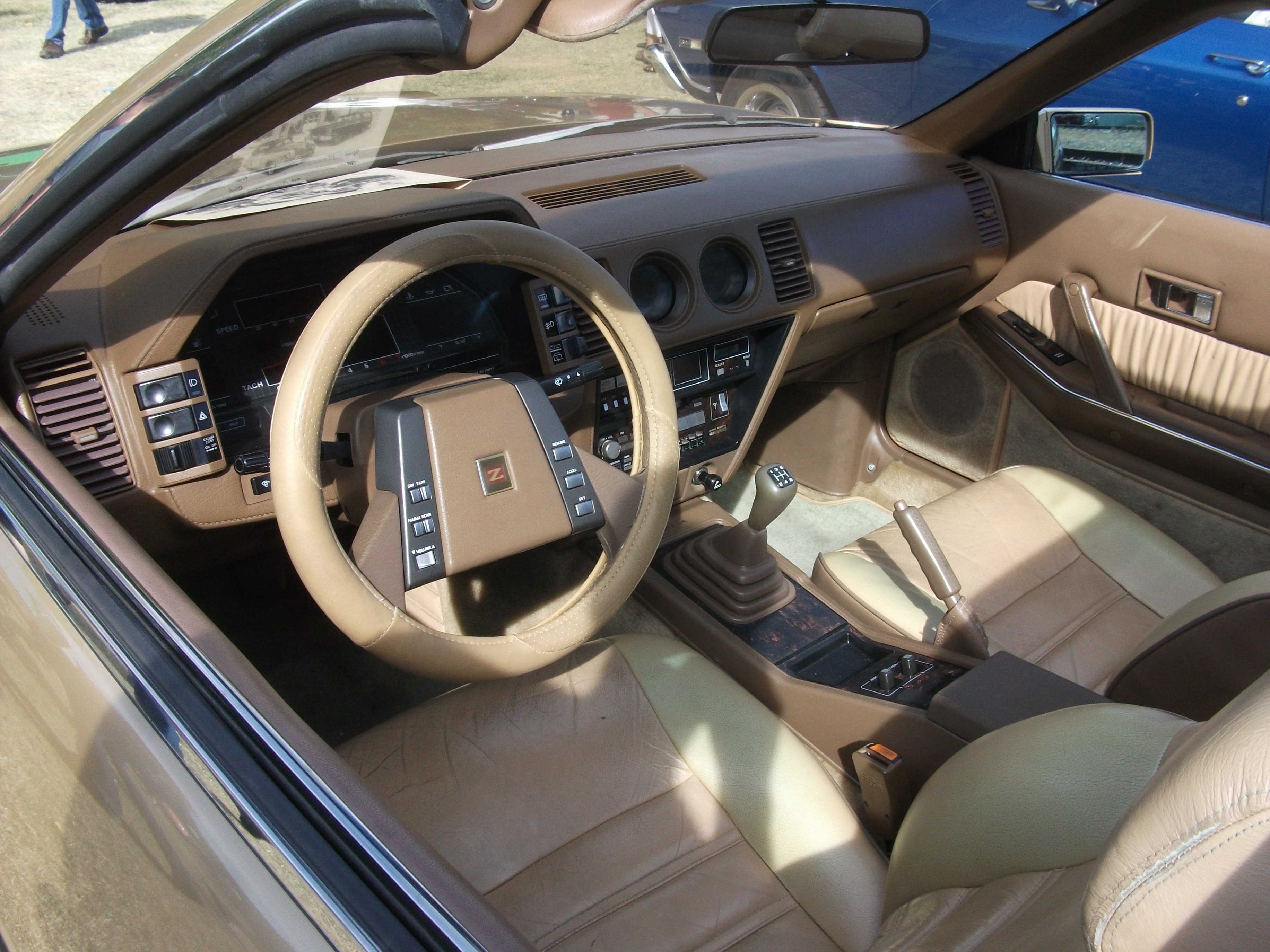 File1985 Nissan 300ZX interior 6281690268jpg  Wikimedia Commons