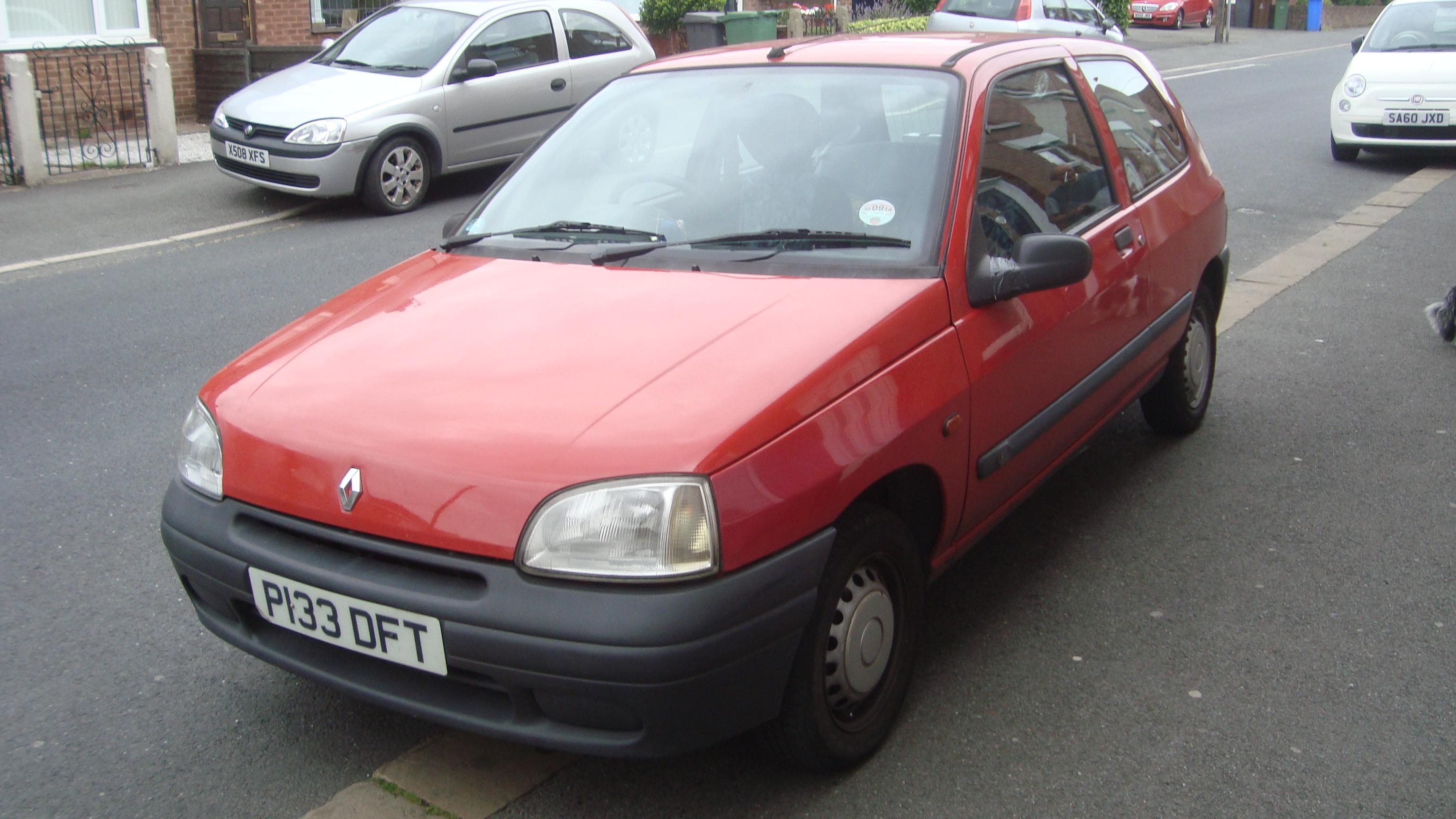 File:1997 Renault Clio 1.1 RL Paris (21904470911).jpg