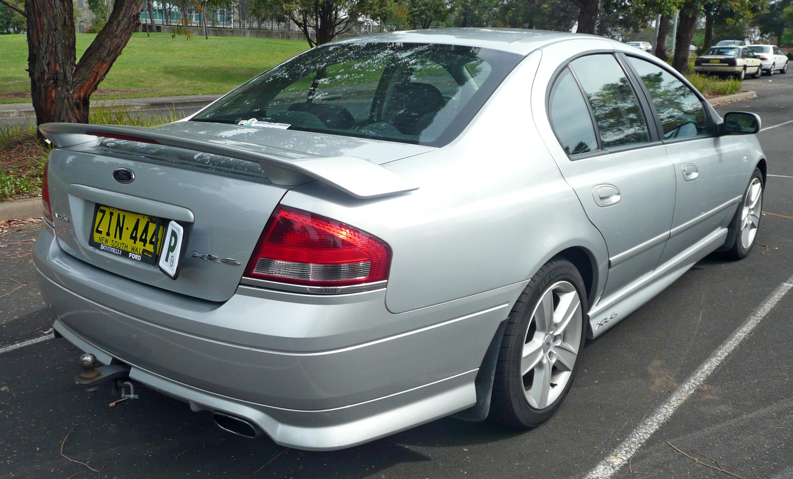 Superb File:2004 Ford Falcon (BA) XR6 Sedan (2009 11 16