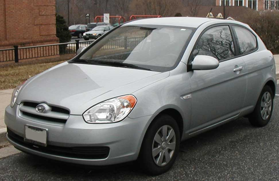 File 2007 2009 Hyundai Accent Hatch Jpg Wikimedia Commons