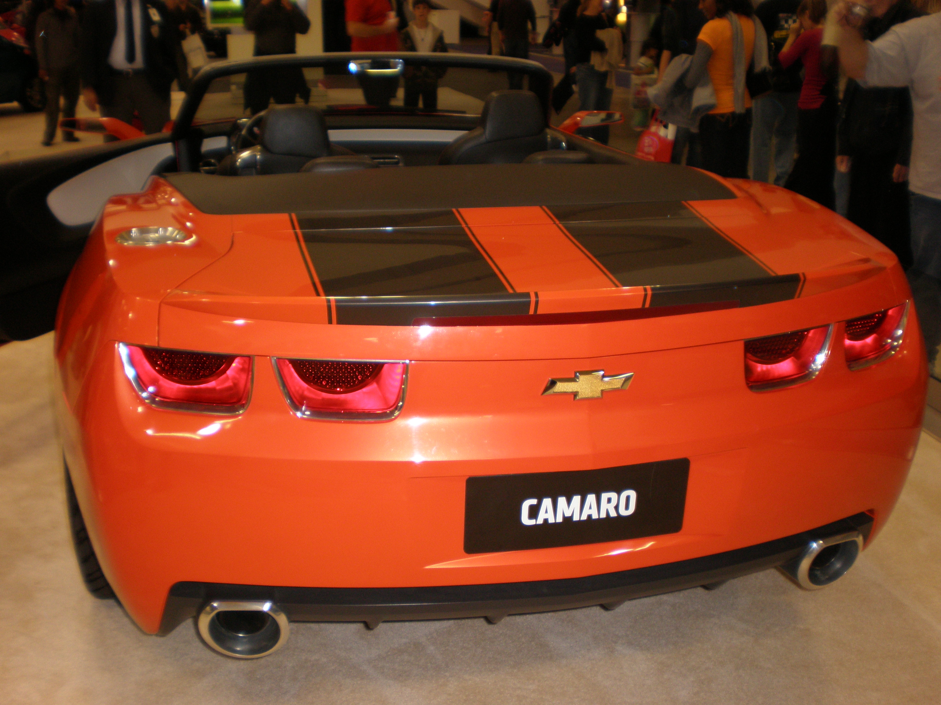 File:2007 Chevrolet Camaro Convertible Concept rear.JPG - Wikimedia Commons