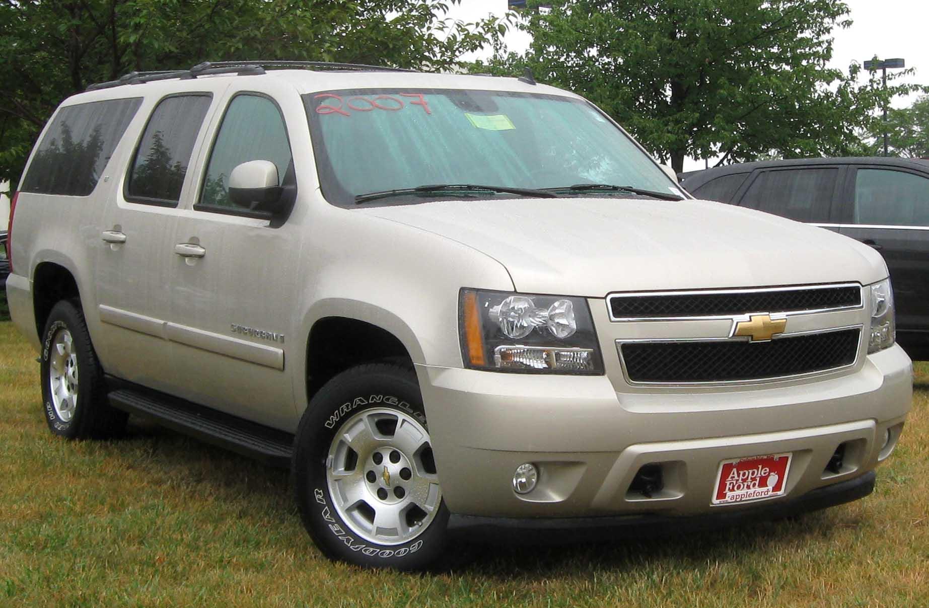 Description 2007 Chevrolet Suburban LT -- 07-10-2010 1.jpg