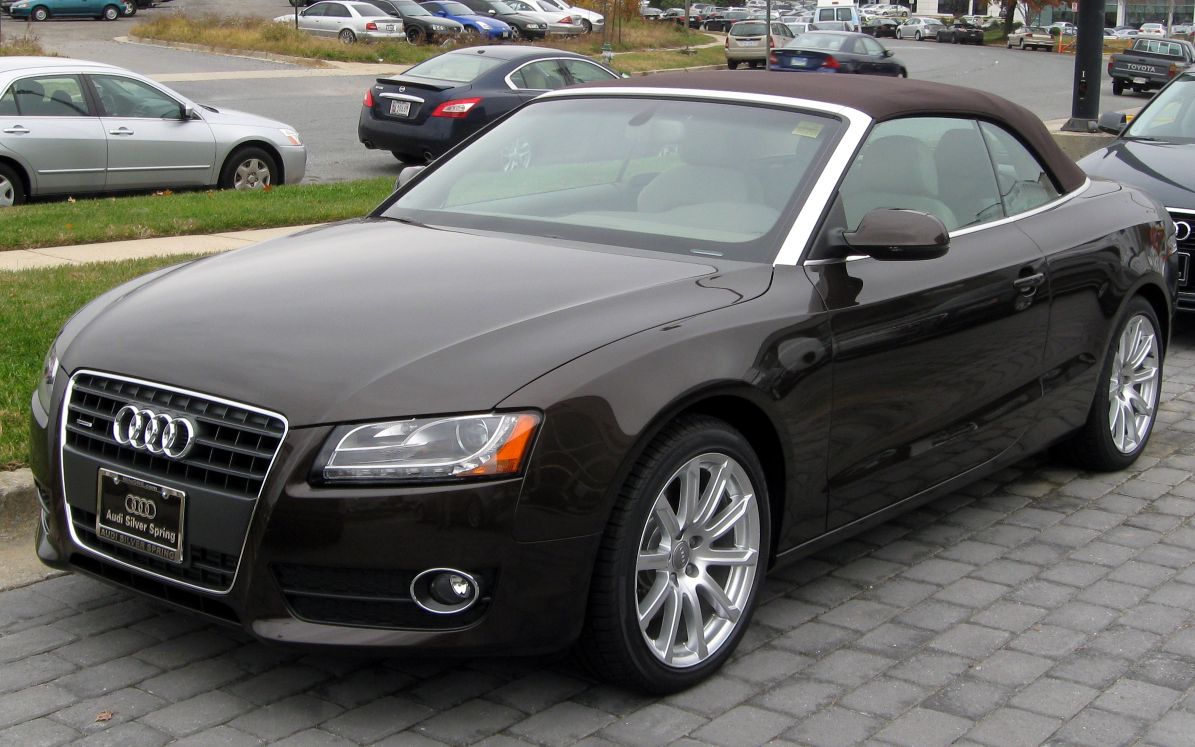 File 2012 Audi A5 Convertible 11 10 2011 Jpg Wikimedia Commons