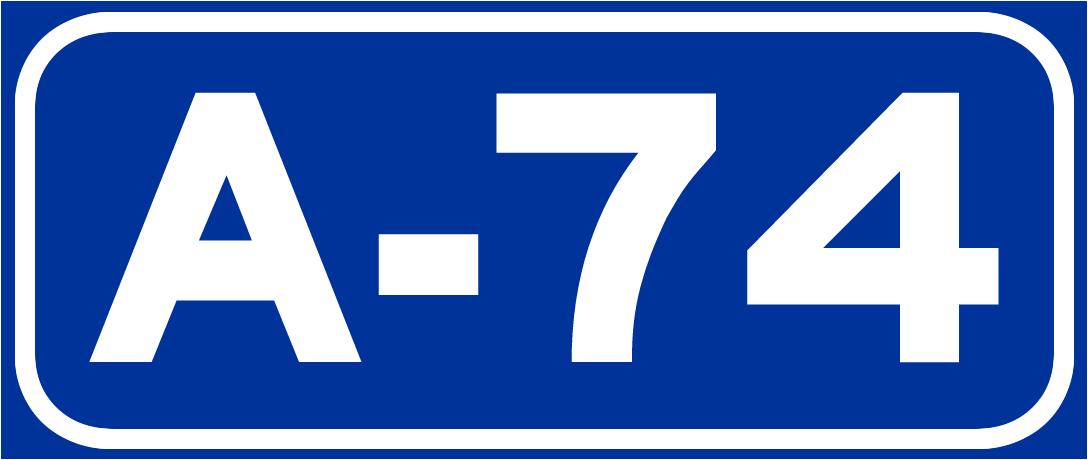 autovía a 74 wikipedia