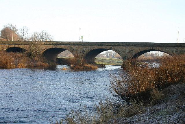 A7 Roadbridge over River Eden in Carlisle - geograph.org.uk - 92889