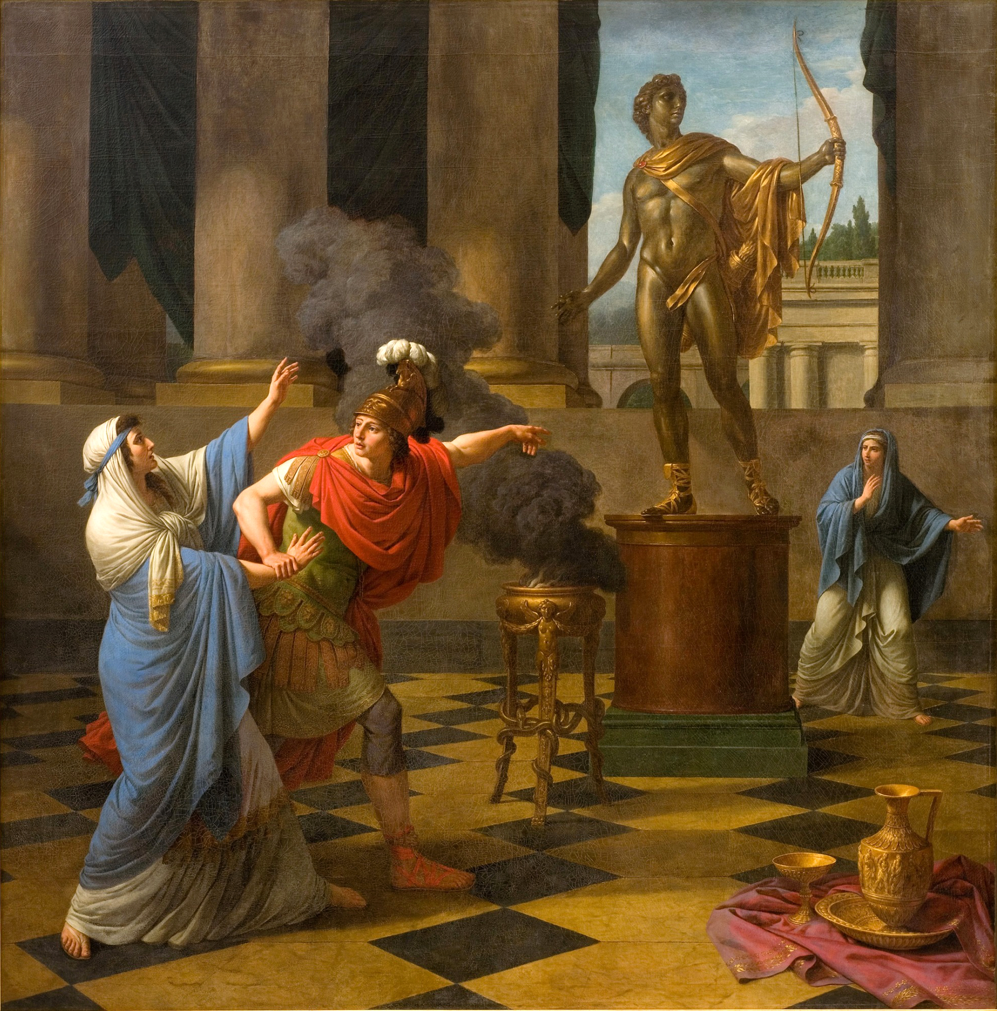 File:Alexander Consulting the Oracle of Apollo, Louis Jean Francois  Lagrenée.jpg - Wikimedia Commons