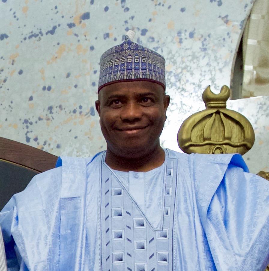 Governor Aminu Waziri Tambuwal facilitates with Nigerians at Eid-al-fitr