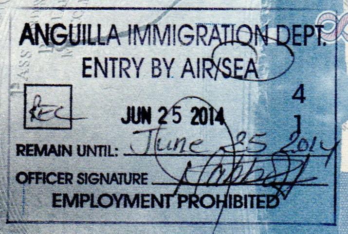 K  Visa Virgin Islands