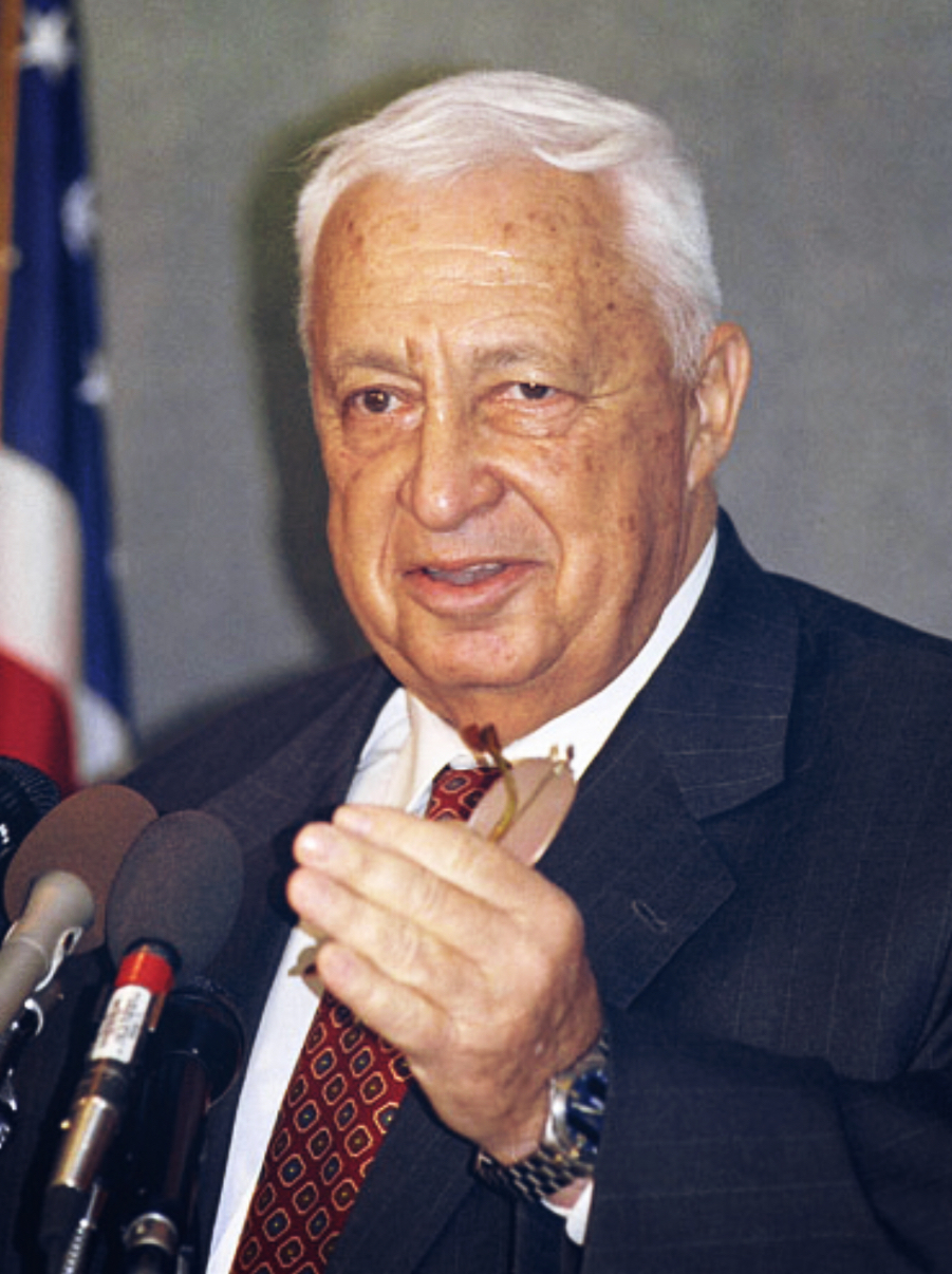 Ariel Sharon, by Jim Wallace (Smithsonian Institution)