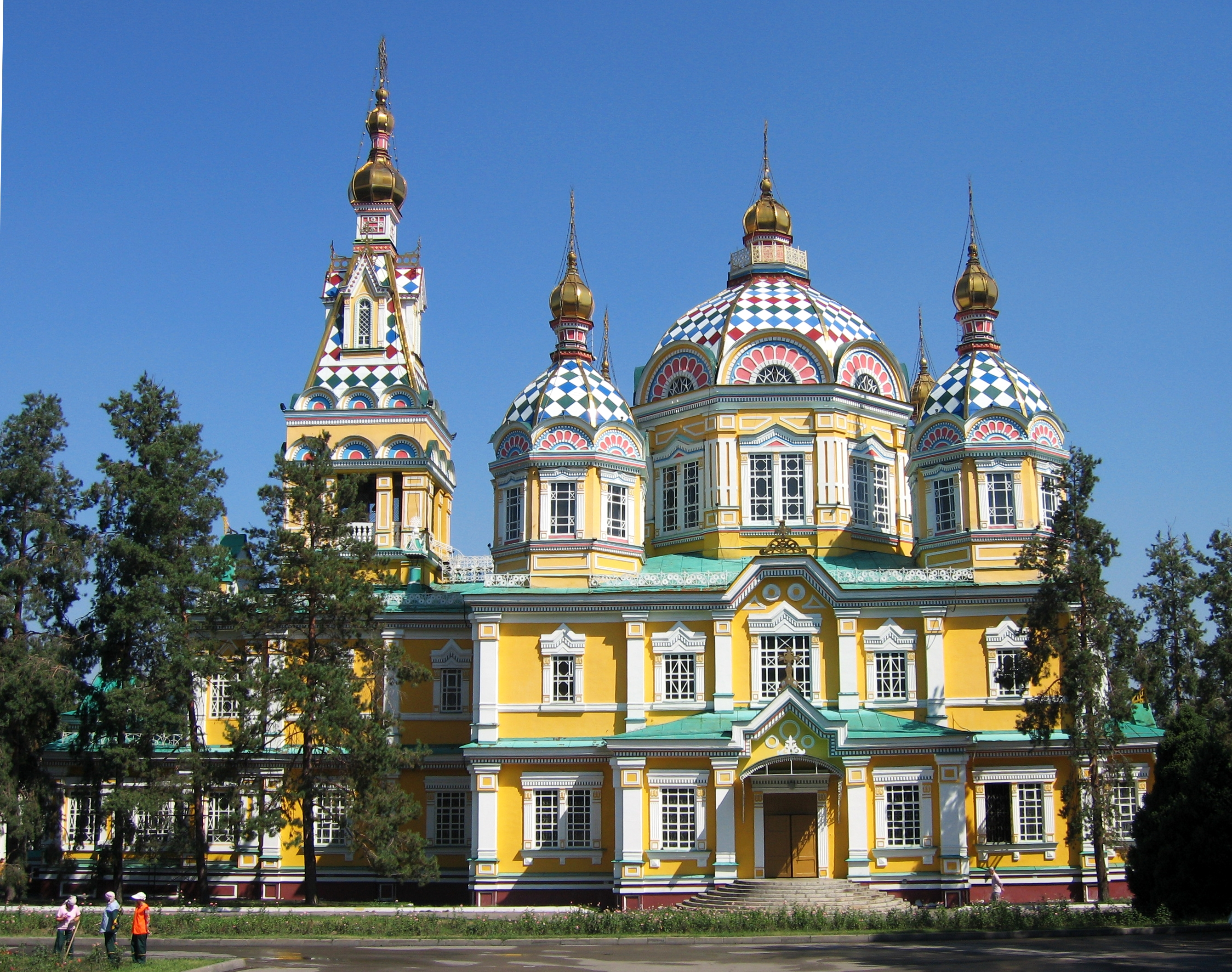 Ascension Cathedral Almaty, Check Out Ascension Cathedral ...