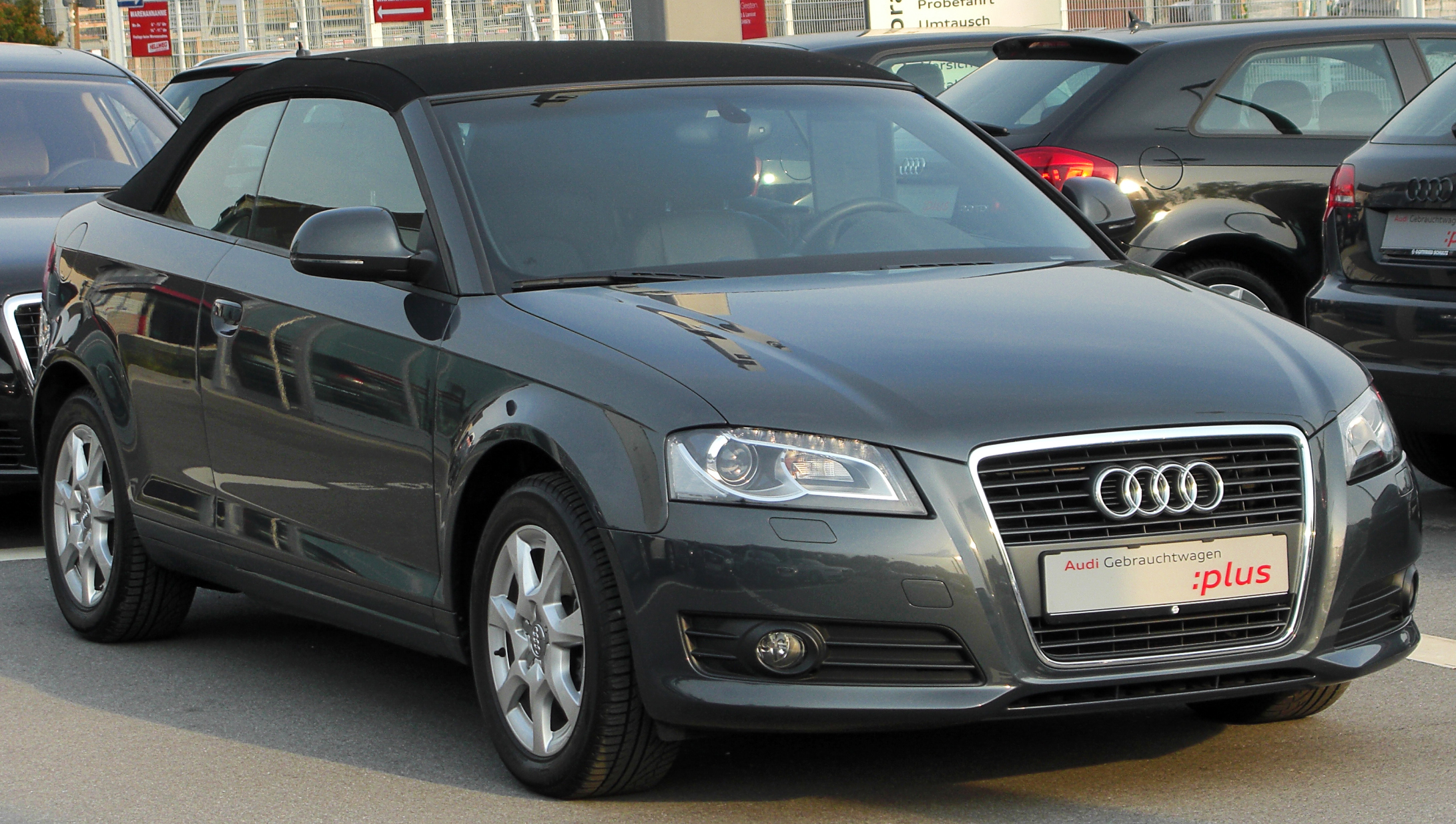 File Audi A3 Cabriolet Front 20100622 Jpg Wikimedia Commons