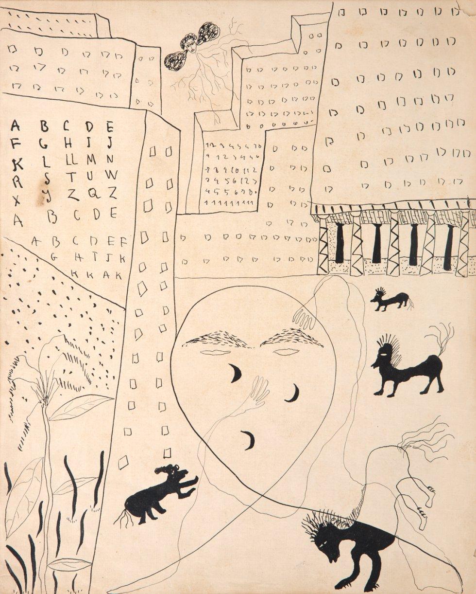 Autorretrato de Federico García Lorca para Poeta en Nueva York