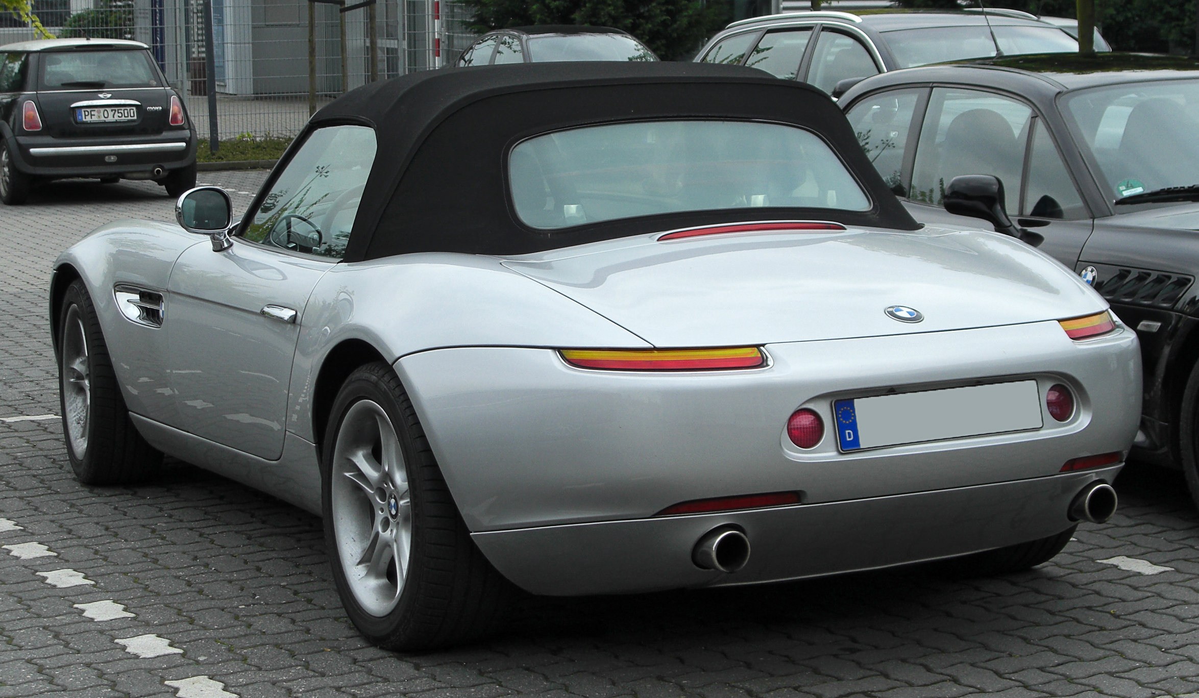 File Bmw Z8 Rear 20100508 Jpg Wikimedia Commons