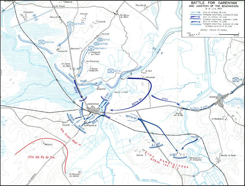 Schlacht um Carentan