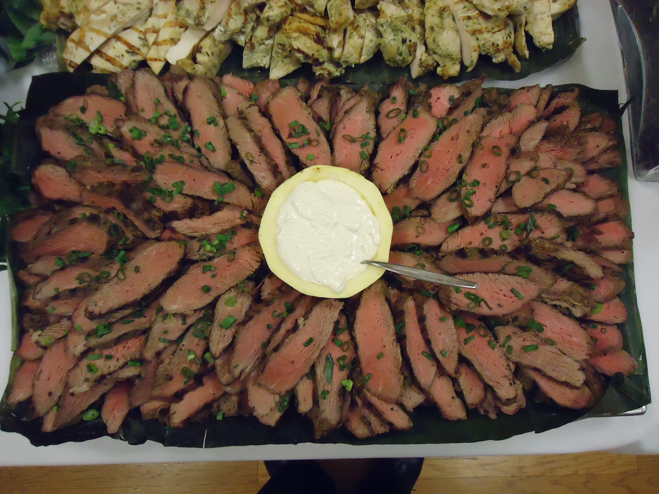 File Beef Steak Slices On A Platter With Sauce Jpg Wikimedia Commons