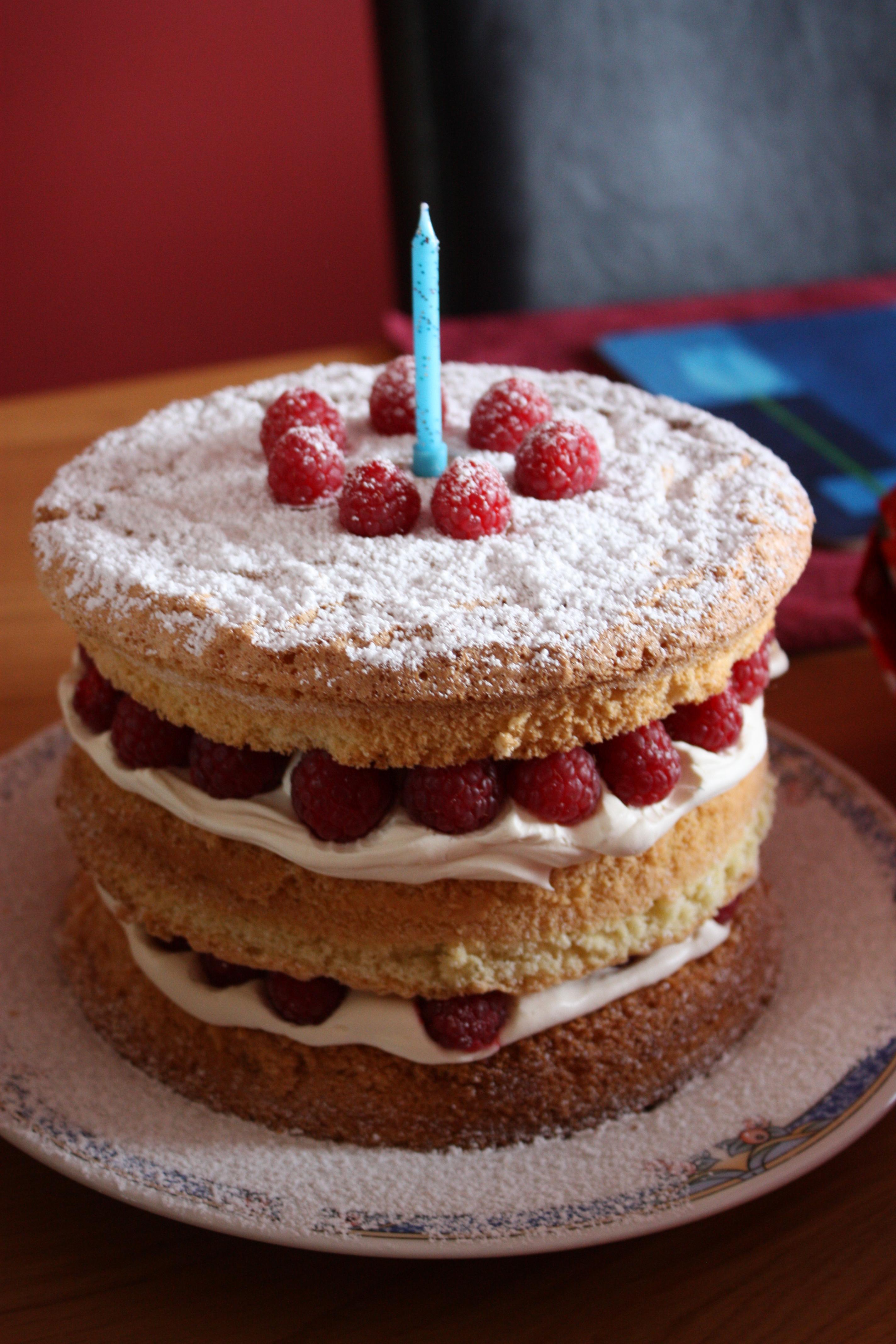 English Cream Cake Tower