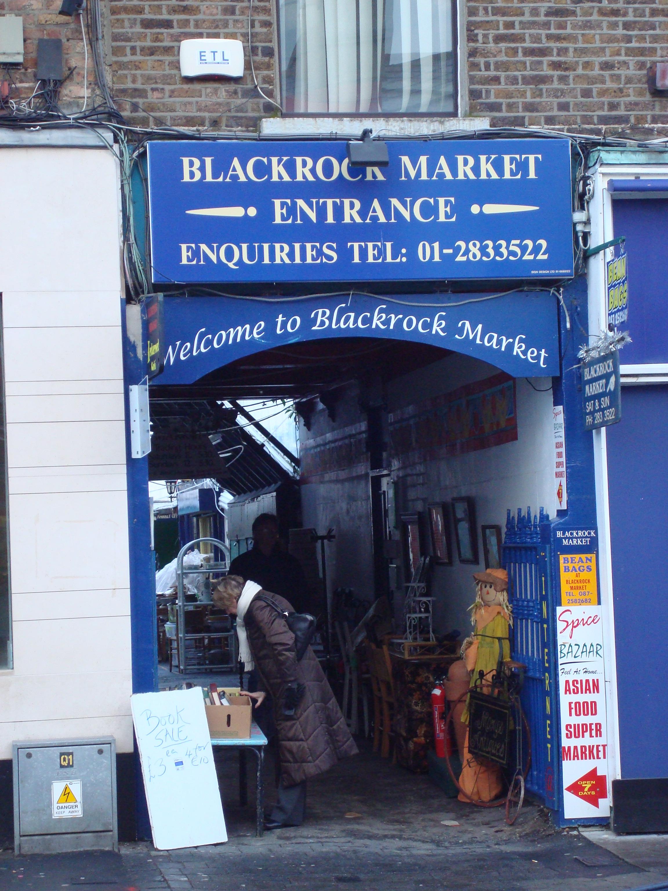 Blackrock Market entrance