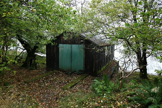 Boathouse at Haweswater. - geograph.org.uk - 597795
