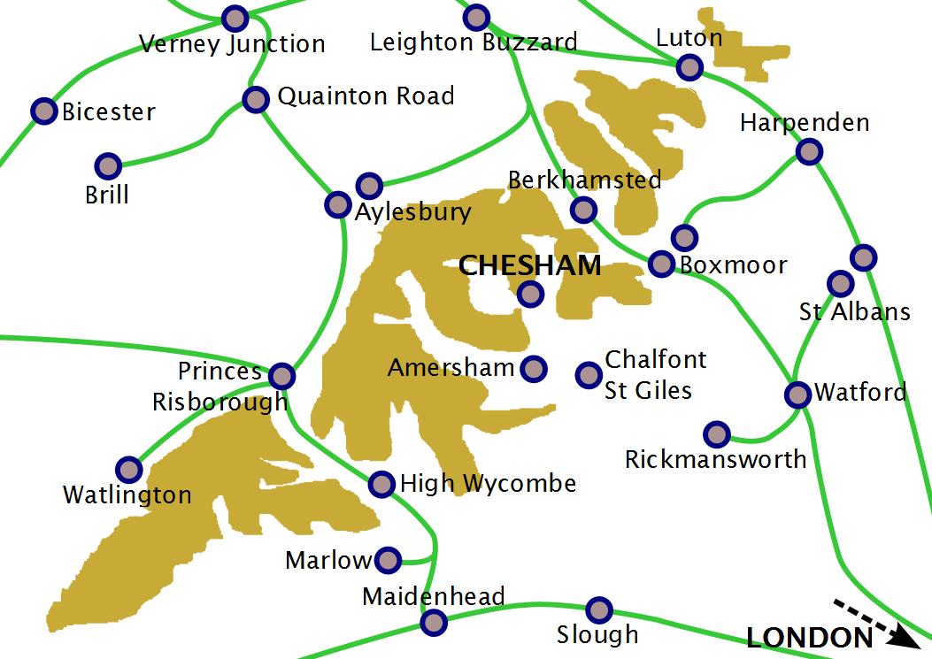 FileBuckinghamshire railways 1880png  Wikimedia Commons