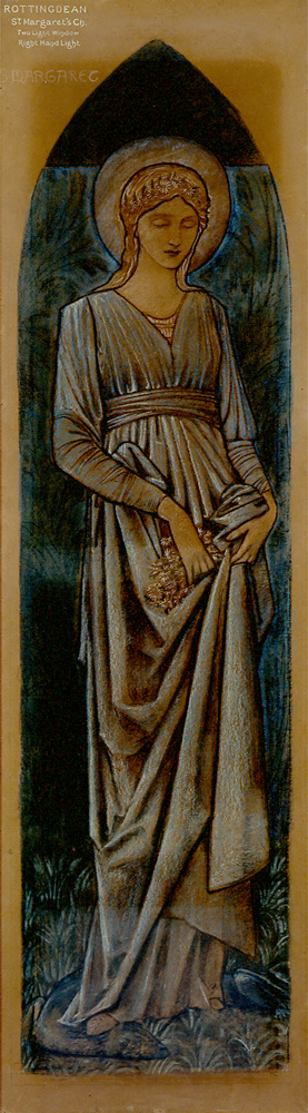 Burne-Jones, Sainte Marguerite.JPG