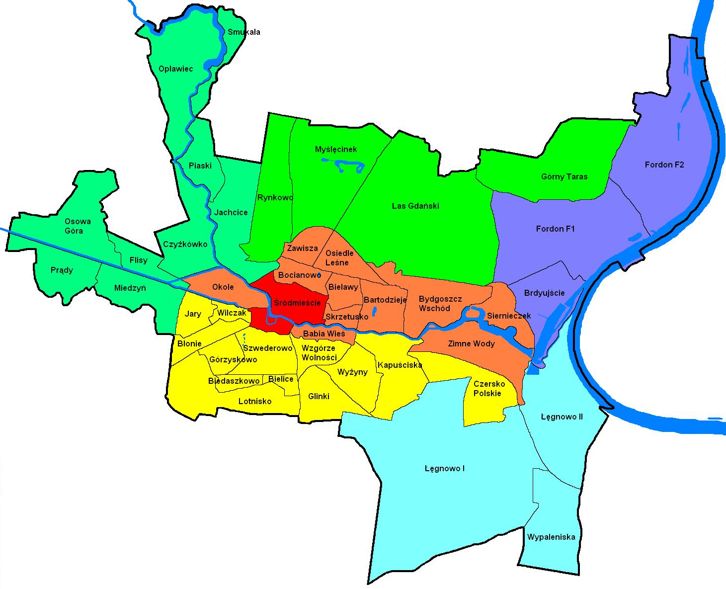 bydgoszcz areas