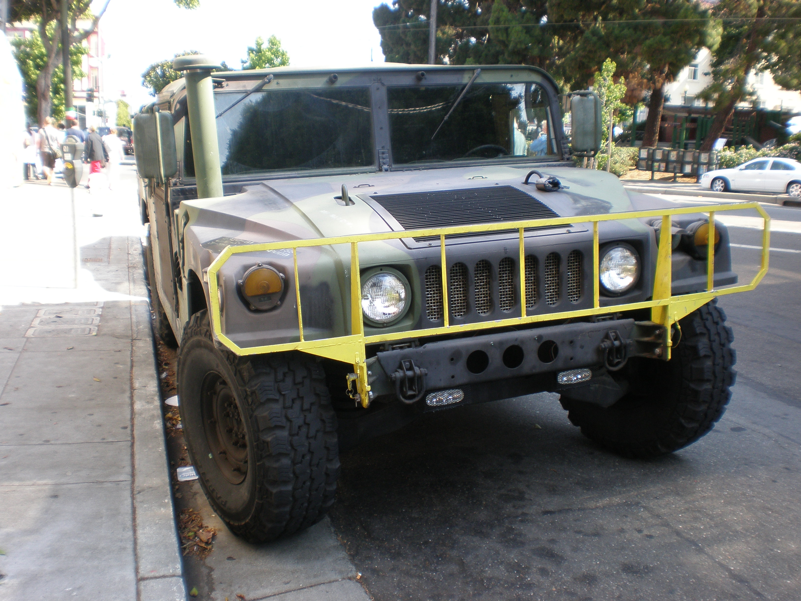 File Camo Hummer H1 Front Jpg Wikimedia Commons