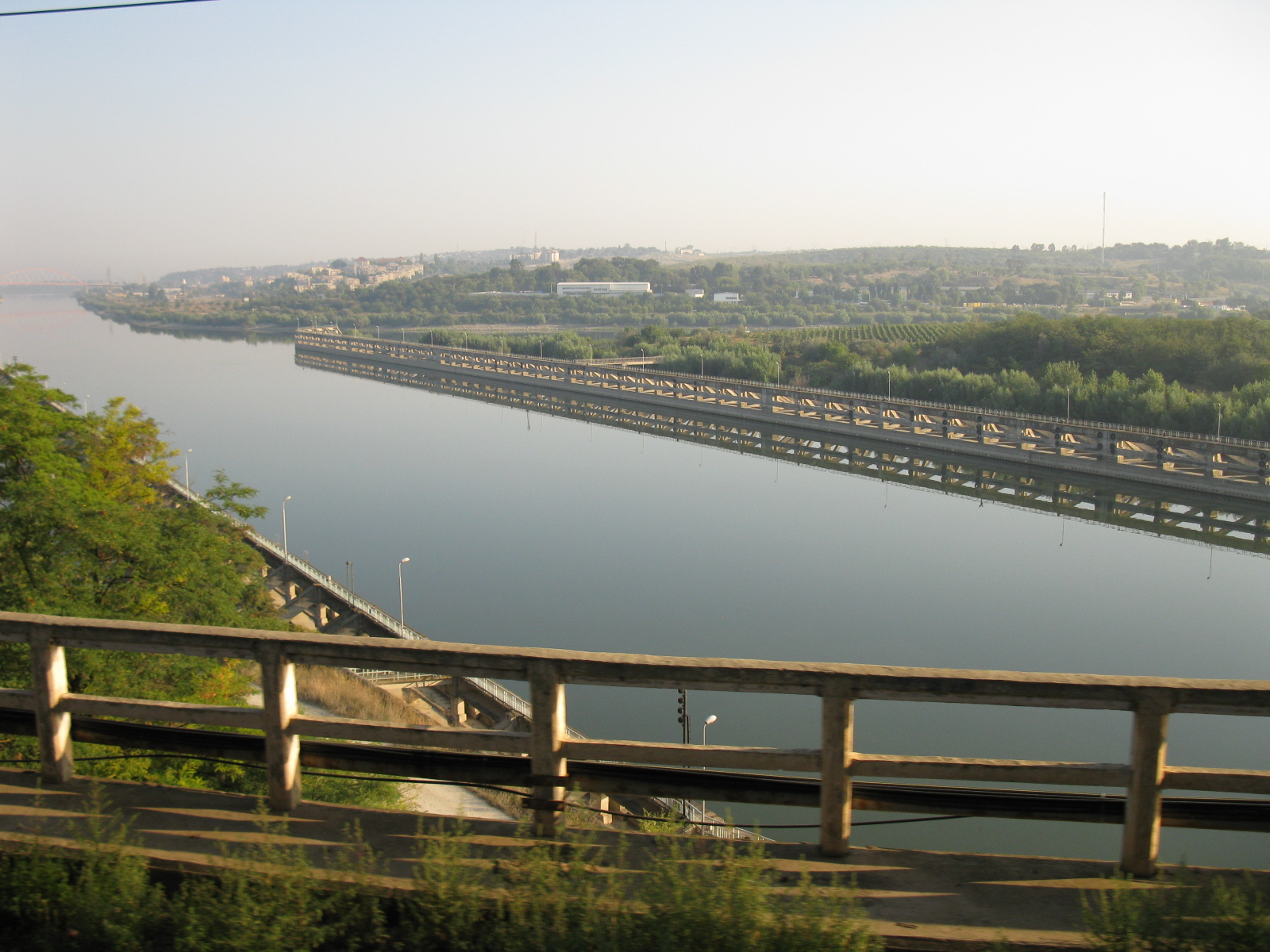 Danube River - Black Sea Channel seen from Cernavoda | Constanta custom tours
