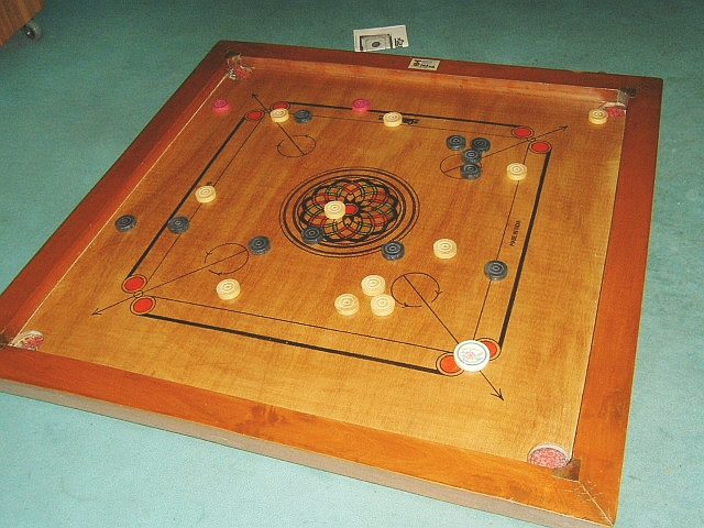 Depiction of Carrom