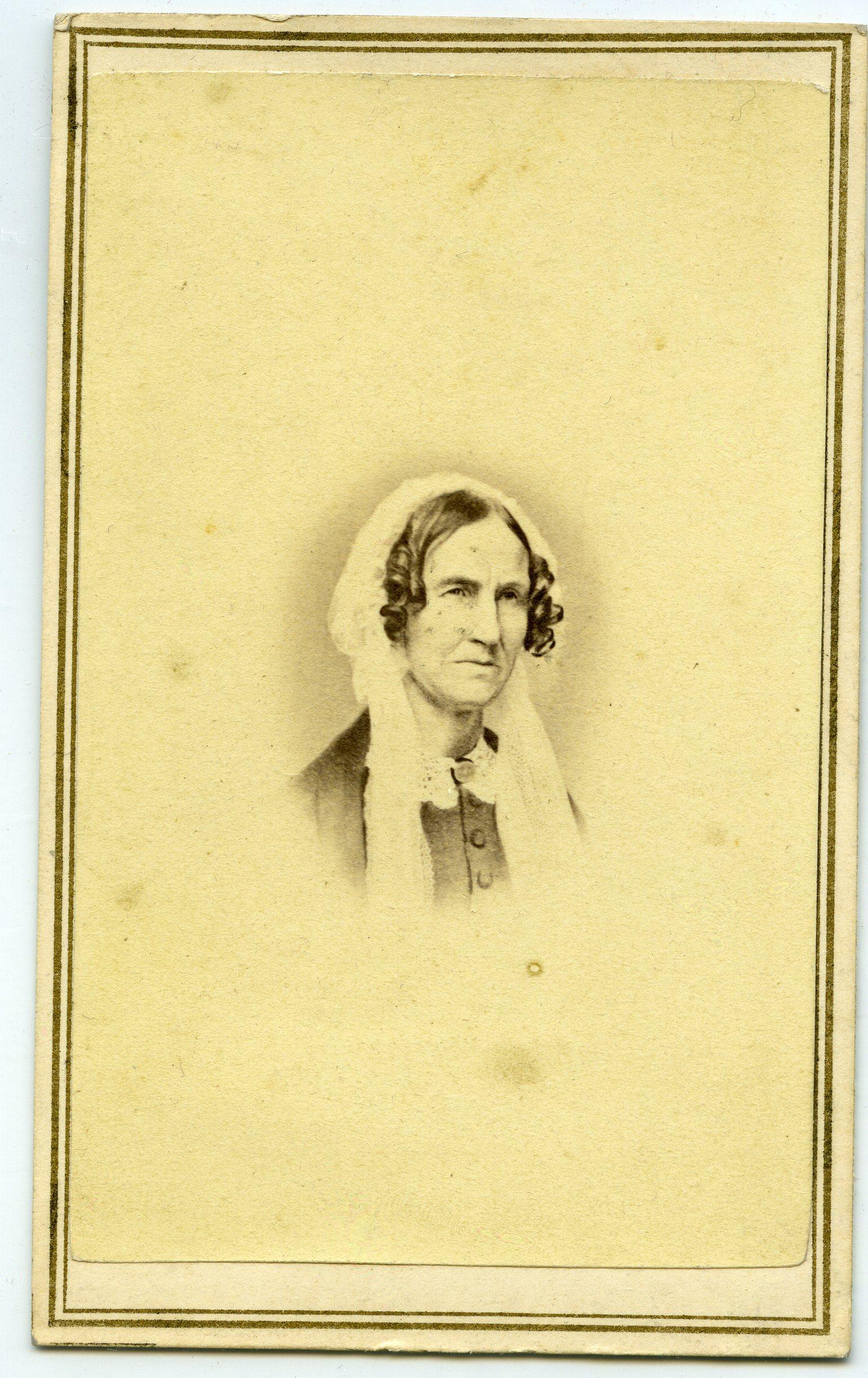 DateiCarte De Visite Portrait Of Orra White Hitchcock Ca 1860