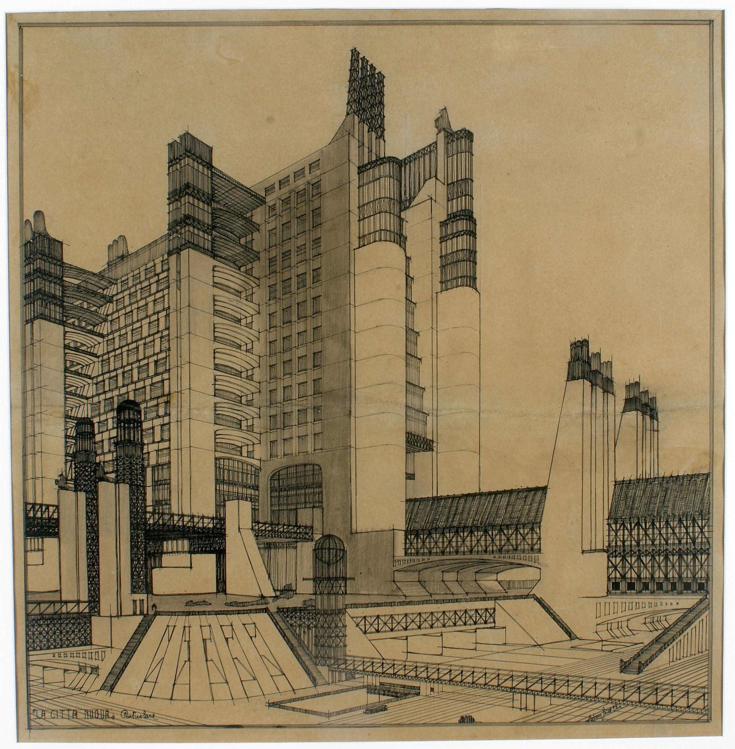 1x04 la grande guerra e il futurismo webcast for Architetto sant elia