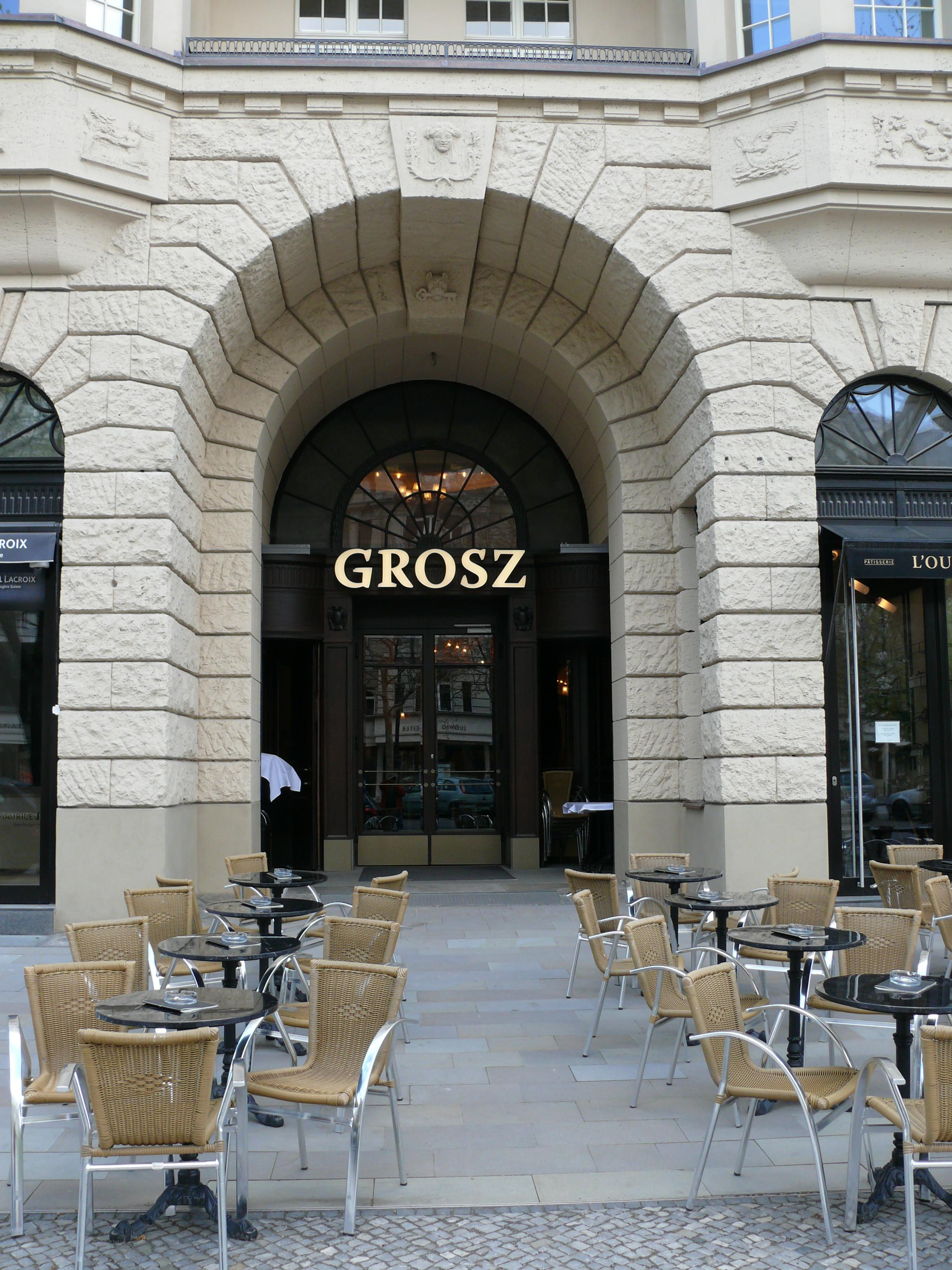 Grosz Cafe Berlin Kudamm