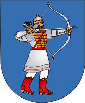 Coat of Arms of Turaŭ, Belarus.png
