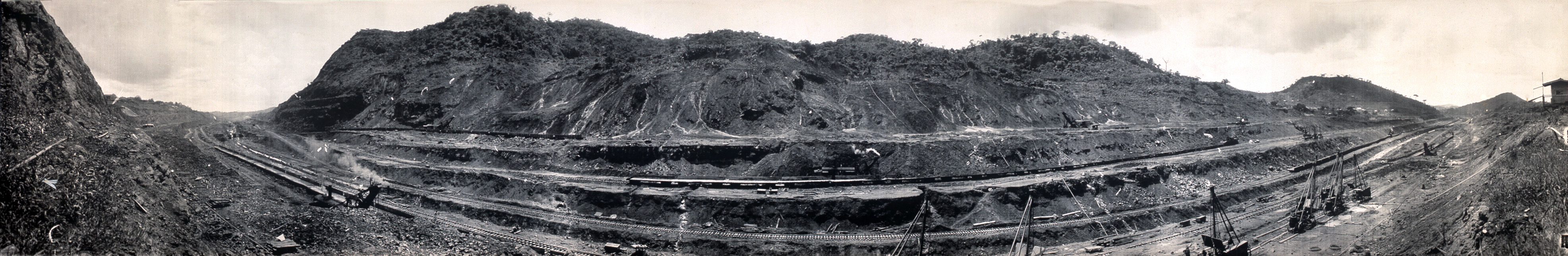 the historical construction of the panama canal A modern wonder of the world, the panama canal is 100 years old learn how it  was built in this pictorial history.