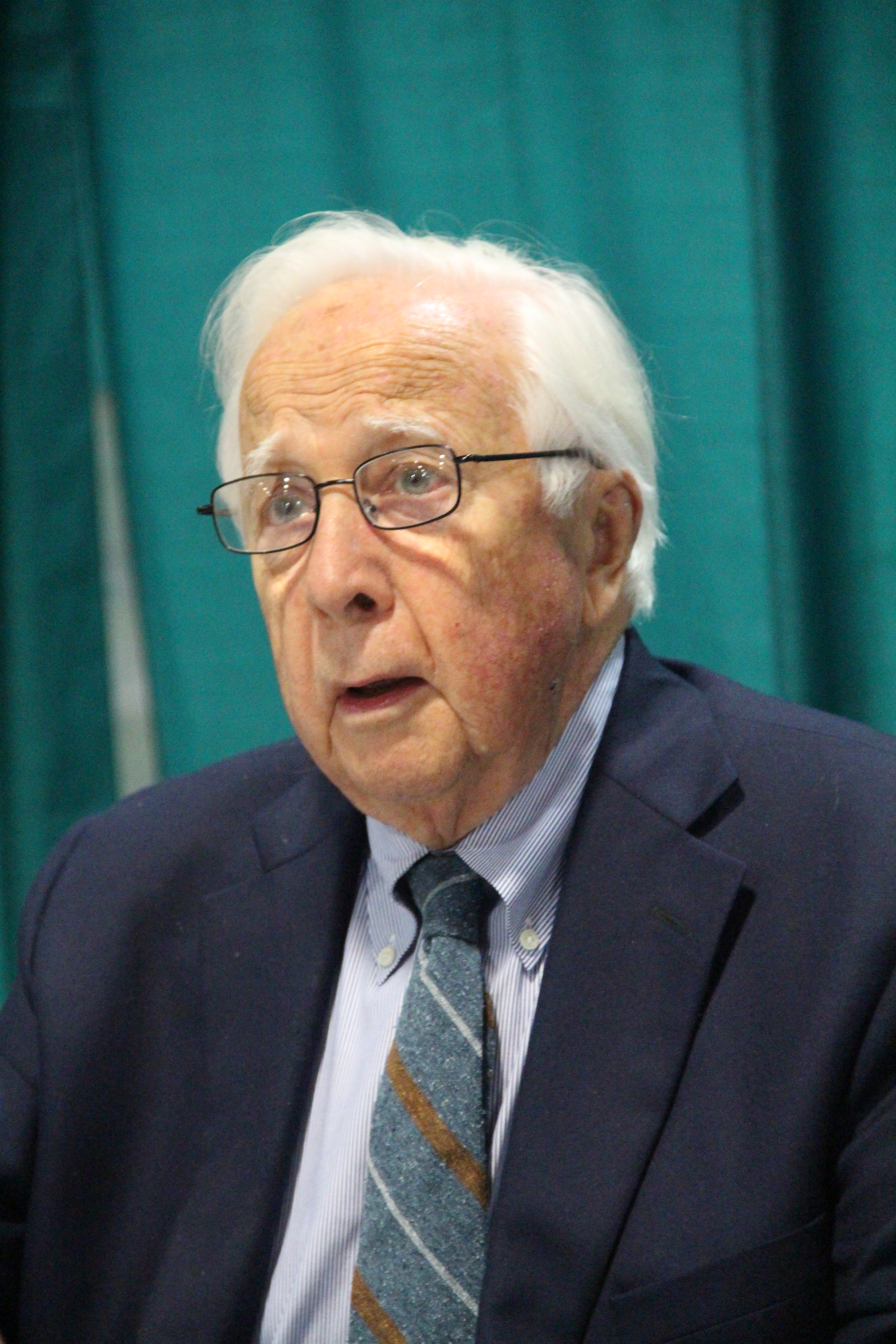 David McCullough at the [[National Book Festival]] in [[Washington, D.C.]] (2015)
