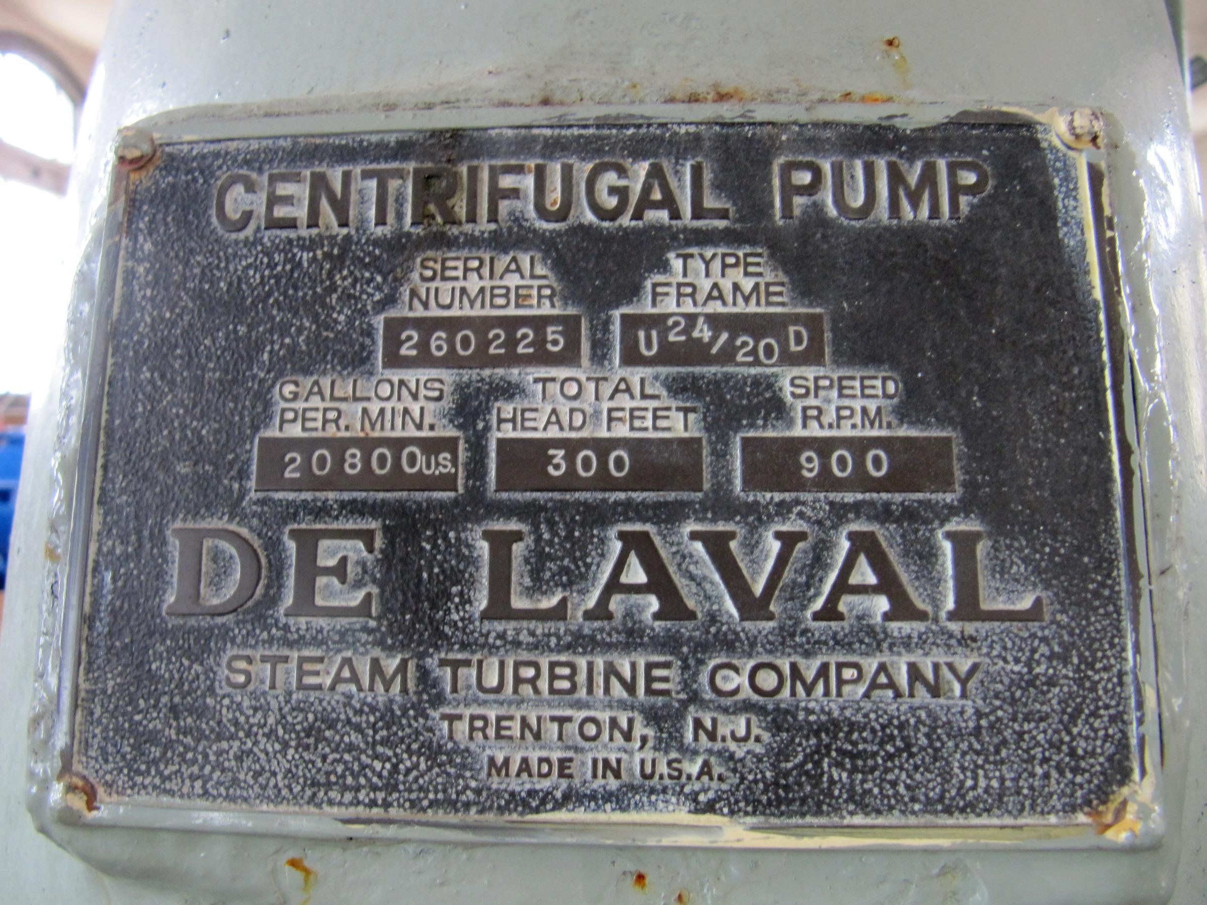 File De Laval centrifugal pump label Wikimedia mons